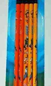 Naruto Shippuden Pencil Set