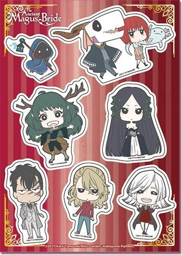 The Ancient Magus Bride Chibi Characters Sticker Set