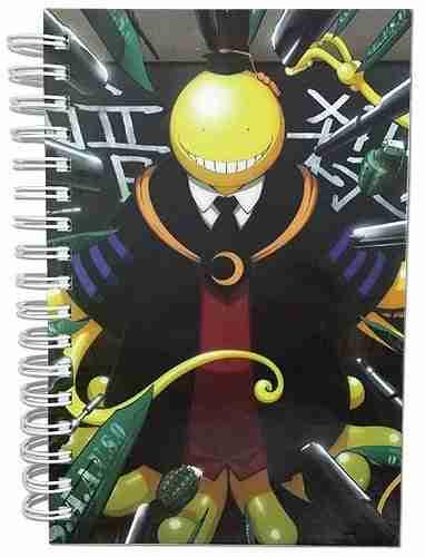 Assassination Classroom Koro Hardcover Notebook
