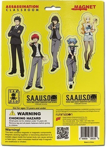Assassination Classroom Magnet Collection 2