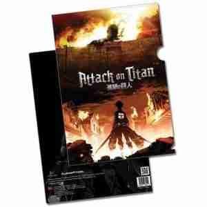 Attack on Titan Key Art File Folder
