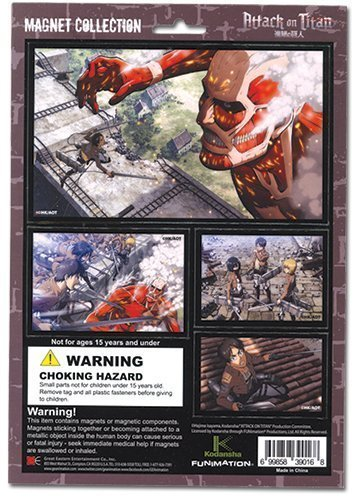 Attack on Titan Magnet Collection