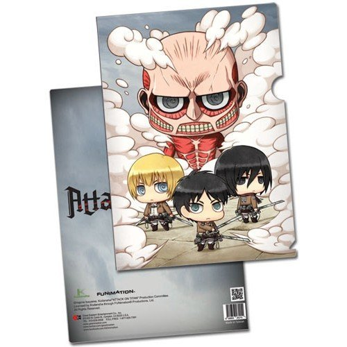 Attack on Titan SD Group File Folder