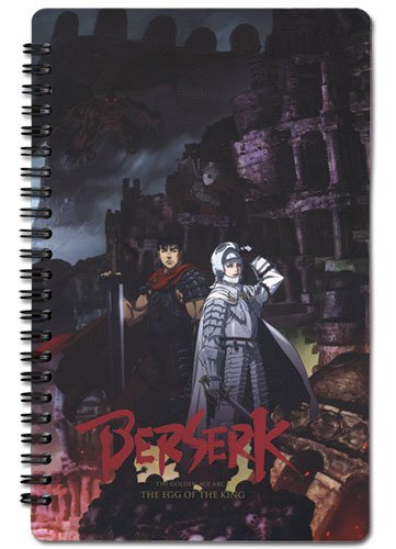 Berserk Key Visual Notebook