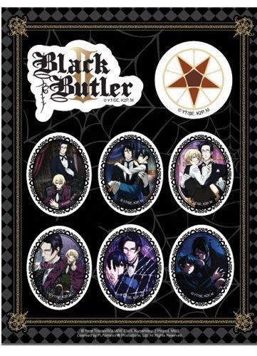 Black Butler 2 Group Stickers
