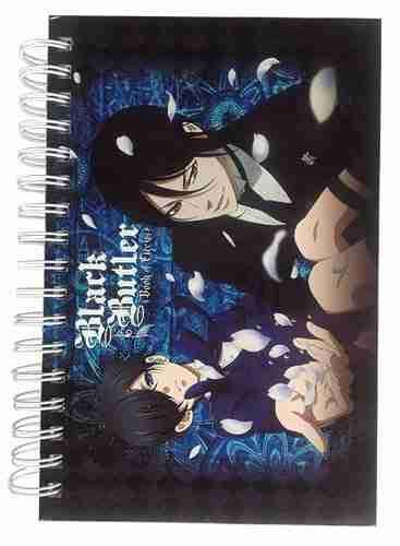 Black Butler Book of Circus Ciel Sebastian & Petals Hardcover Notebook