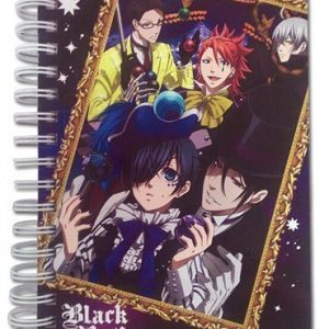 Black Butler Book of Circus Group and Frame Hardcover Notebook