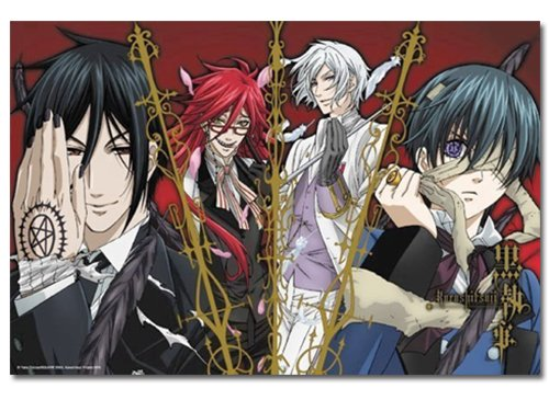 Black Butler Group 1000 Piece Jigsaw Puzzle
