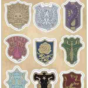 Black Clover Symbol Sticker Set