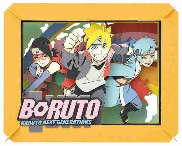 Boruto: Naruto Next Generations Paper Theater Nascent Team 7