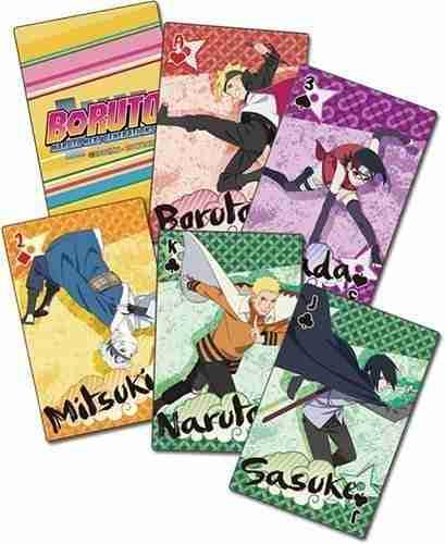 Boruto Big Group Playing Cards