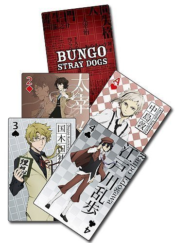 Bungo Stray Dogs Group Playing Cards