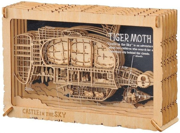 Castle in the Sky Paper Theater Tiger Moth