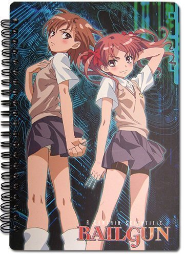 A Certain Scientific Railgun Misaka and Kuroko Notebook