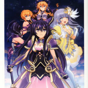 Date A Live II Animation Visual Guide (with Drama CD)