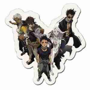 Deadman Wonderland Group Sticker