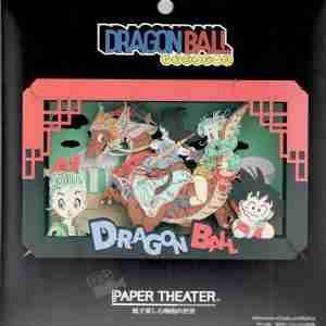 Dragon Ball Goku & Bulma Paper Theater PT-L09