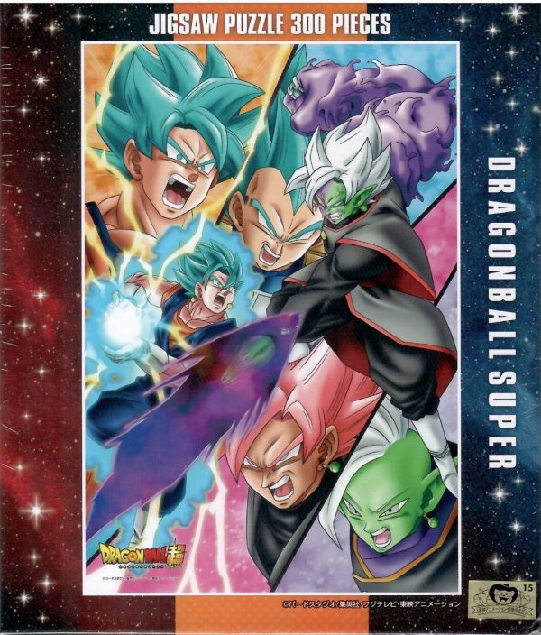Dragon Ball Super Absolute God vs Super Saiyan Blue Vegito 300pc Jigsaw Puzzle