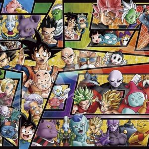 Dragon Ball Super A Great Adventure of the WHole Universe! 1000pc Art Crystal Jigsaw Puzzle