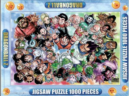 Dragon Ball Z Give Me Your Energy! 1000pc Jigsaw Puzzle