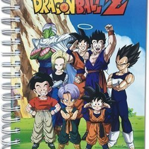 Dragon Ball Z Group In Lawn Hardcover Notebook