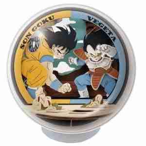 Dragon Ball Z Paper Theater Ball Son Goku vs Vegeta PTB-15