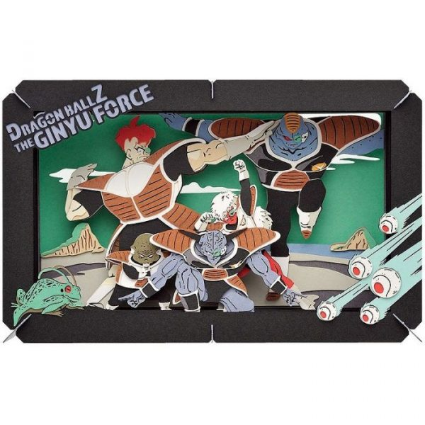 Dragon Ball Z Paper Theater Ginyu Force