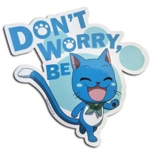 Fairy Tail Don't Worry Be Happy Sticker