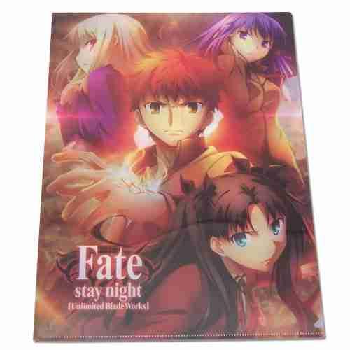 Fate/stay night Shiro & Girls File Folder