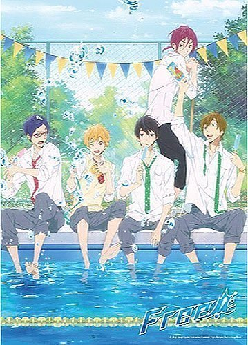 Free! Boys Cooling Off 300pc Jigsaw Puzzle