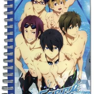 Free! Group Swimsuit Hardcover Notebook