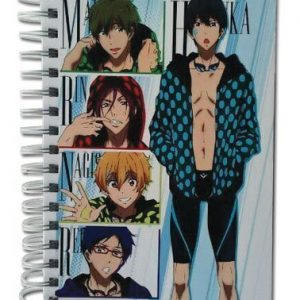 Free! Group With Dot Clothes Hardcover Notebook