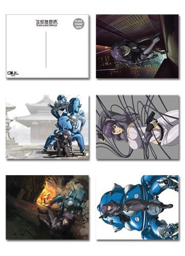 Ghost in the Shell S.A.C. Postcard Set
