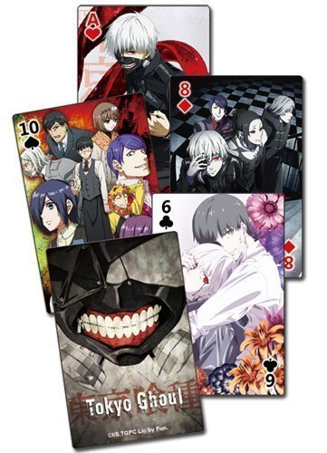 Tokyo Ghoul Group Playing Cards