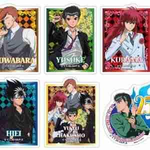 Yu Yu Hakusho 25th Die-Cut Sticker Set