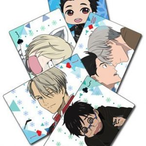 Yuri!!! On Ice Screenshot & SD Playing Cards