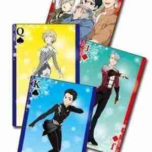 Yuri!!! On Ice Screenshots Playing Cards